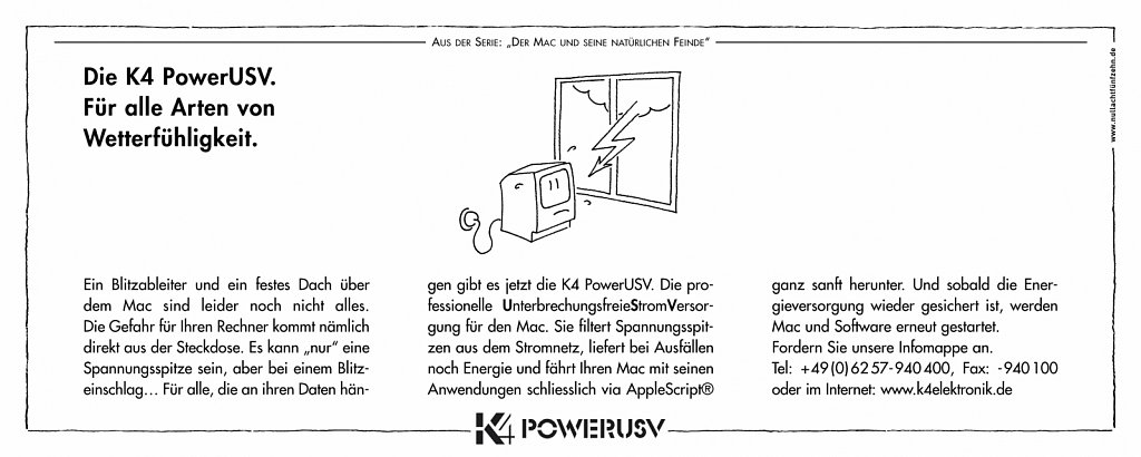 k4 | anzeige macwelt 1