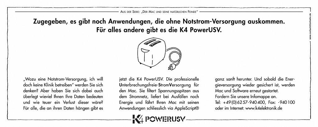 k4 | anzeige macwelt 2