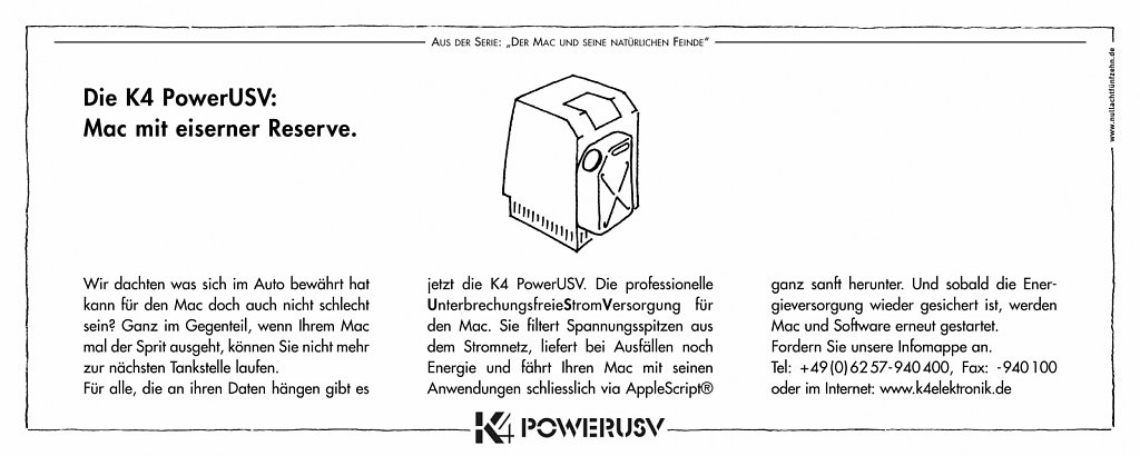 k4 | anzeige macwelt 3
