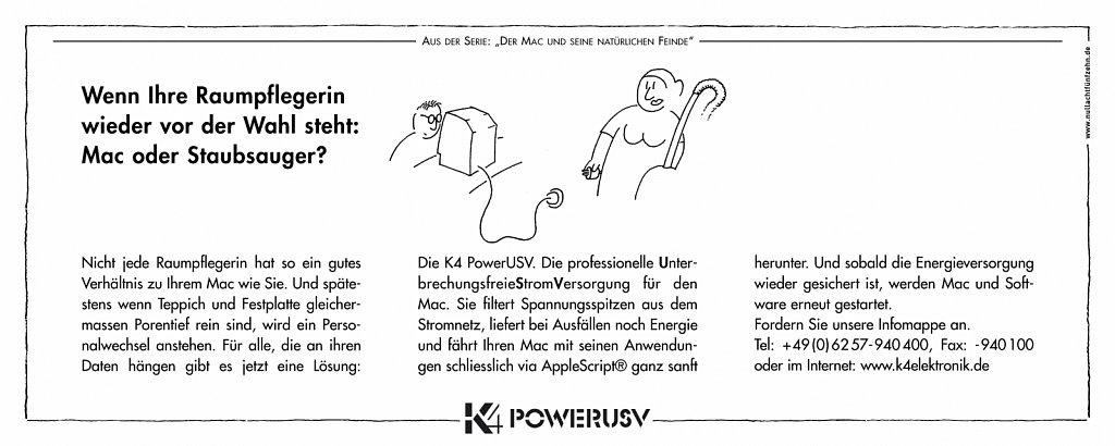 k4 | anzeige macwelt 4