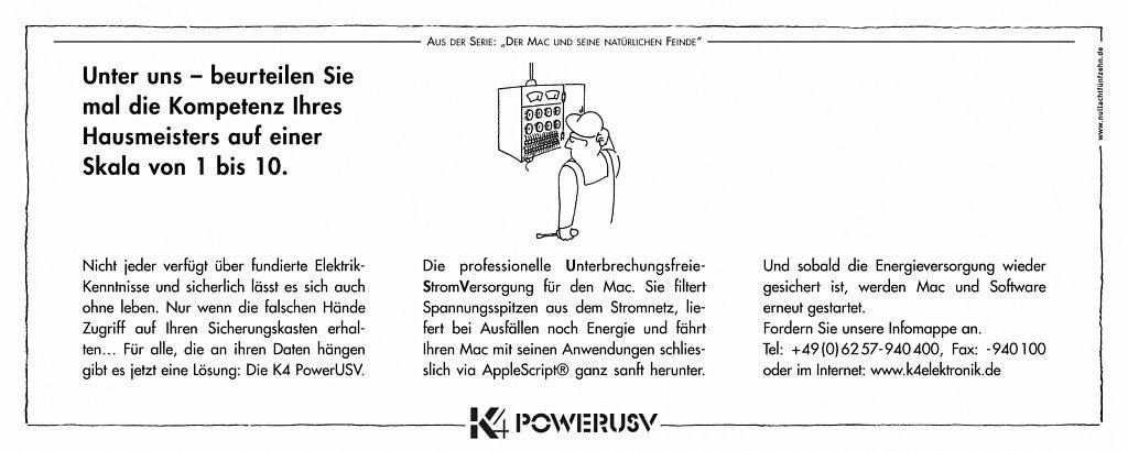 k4 | anzeige macwelt 6