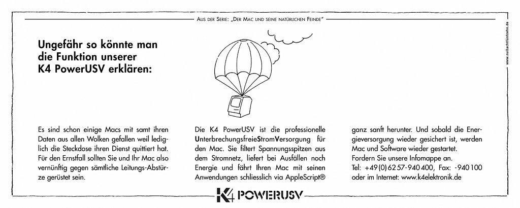 k4 | anzeige macwelt 8