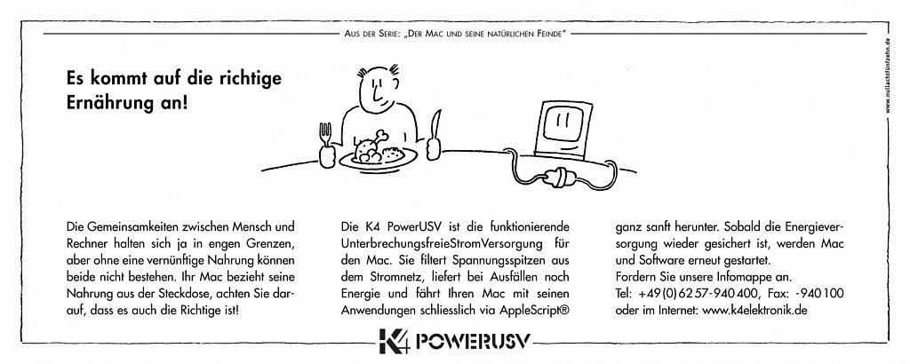 k4 | anzeige macwelt 9