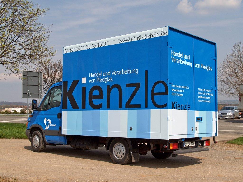 kienzle | wagenbeschriftung