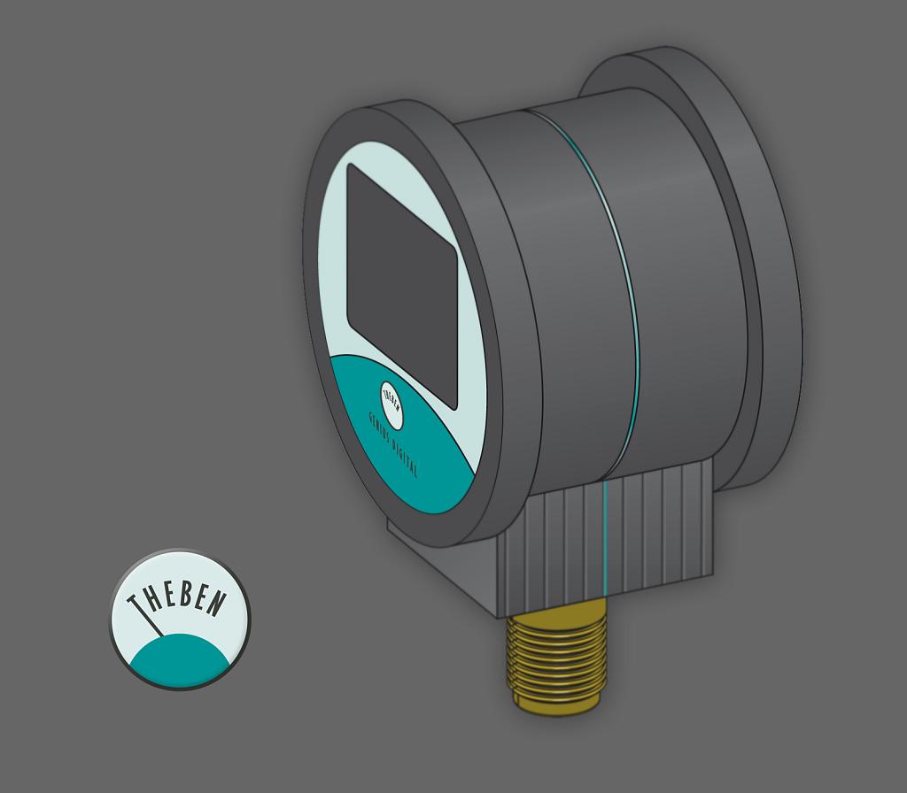 theben | digitales manometer