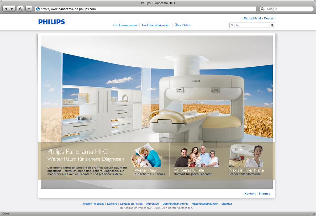 philips | microsite