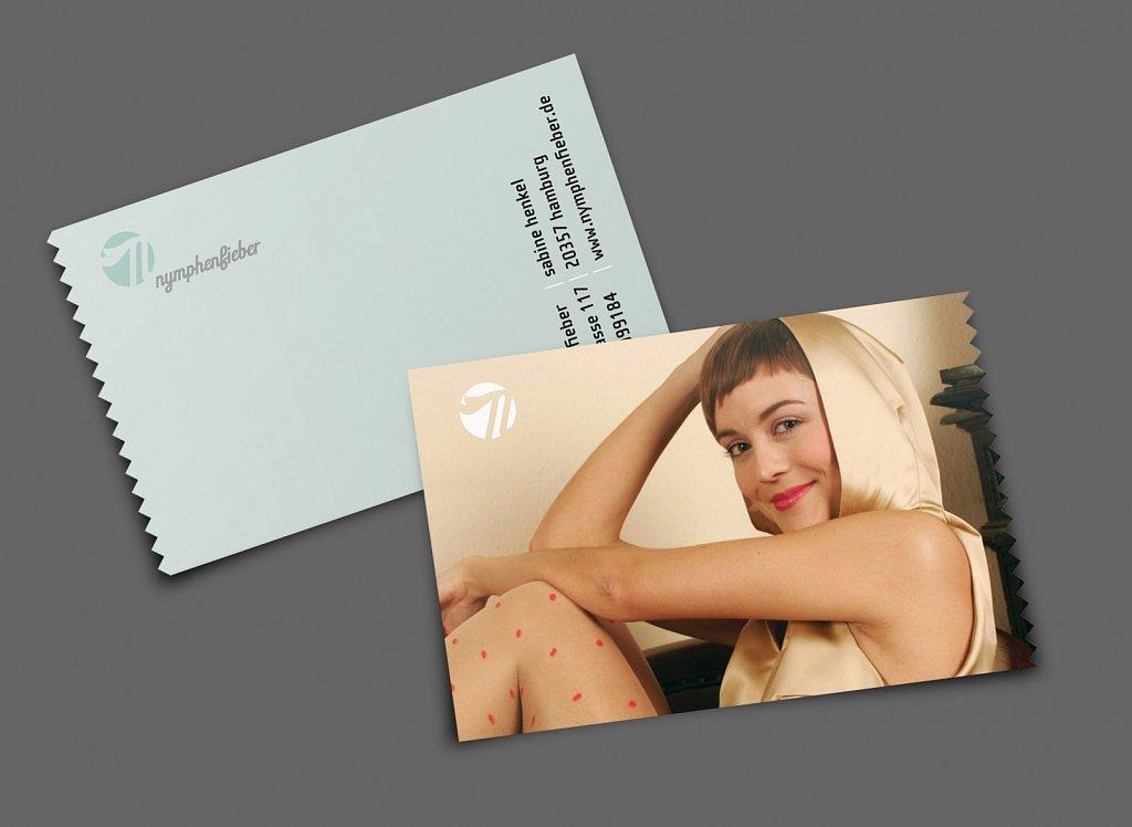 nymphenfieber | visitenkarte