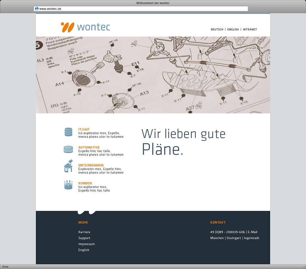 wontec | website